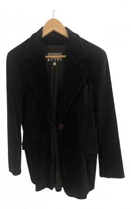 Gianfranco Ferre Blue Velvet Jackets