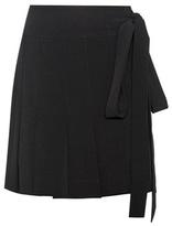 Marni Pleated Wrap Skirt