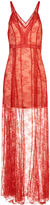 Alice McCall Red Lace I See You Dress