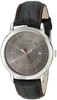 88 Rue du Rhone Men's 87WA140026 Analog Display Swiss Quartz Black Watch