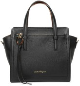 Salvatore Ferragamo Amy S black leather tote bag