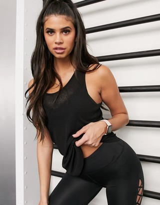 Asos 4505 sheer tank with racer back