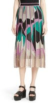 M Missoni Women's Geometric Intarsia Midi Skirt