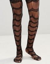 Leg Avenue Scalloped Eyelash Stay Up Stockings