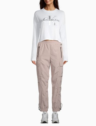 Calvin Klein Performance Elasticated Zip Pocket Cargo Pants