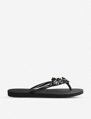Havaianas Slim Capri II embellished flip-flops
