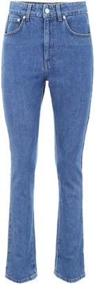 Chiara Ferragni Flirting Eye Embroidered Jeans