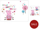 Portmeirion Peppa Pig Placemat And Coaster Set