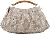 Tina Women's Sequins Beaded Evening Party Wedding Cocktail Wallet Clutch Handbag