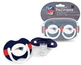 Baby Fanatic New England Patriots Pacifiers - 2 Pack