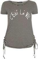 Dorothy Perkins C'est La Vie Stripe T-shirt