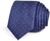 BOSS Textured Ground Pindot Skinny Tie
