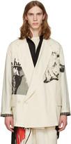 Yohji Yamamoto Ivory yohji Jacket
