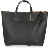 Topshop Sammy Shopper Bag - Black