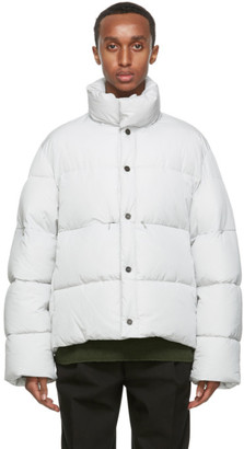 Jacquemus Grey La Doudoune Blouson Coat