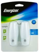 Energizer Traditional Auto LED Nightlight 2pk