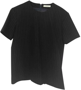Celine Navy Wool Top for Women