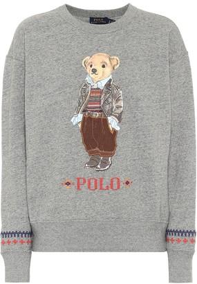 Polo Ralph Lauren Printed cotton jersey sweatshirt