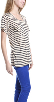 Kain Label Classic Pocket Tee in Navy Stripe