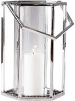 Torre & Tagus 902243B Union Stainless Steel Hexagon Hurricane Lantern