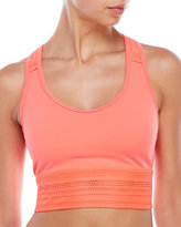 New Balance Y-Back Cage Cropped Sport Tank