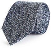 Reiss Fisher - Silk Patterned Tie in Blue, Mens