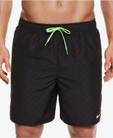 Nike Men's Embossed Volley Swim Trunks,7""