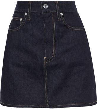 Helmut Lang Femme Hi Denim Mini Skirt