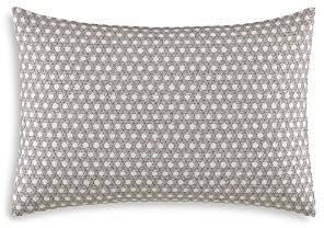 Vera Wang Layered Geometric Stitched Lattice Decorative Pillow, 15 x 22