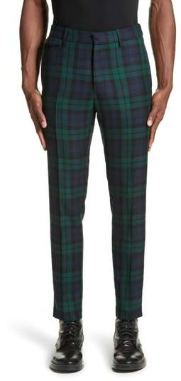 Burberry Serpentine Check Wool Pants