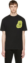 McQ Black 'Bunny Be Here Now' T-Shirt