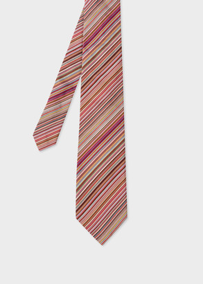 Paul Smith Men's 'Signature Stripe' Silk Tie