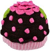 Funny Girl Designs Cupcake Crochet Winter Hat