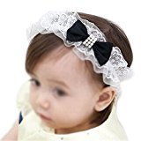 hair band - SODIAL(R)Baby & Kids hair band Hair ornament blue ribbon design