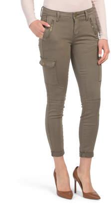 Juniors Garment Dye Cargo Pants