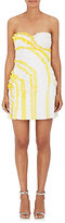 Nina Ricci WOMEN'S EMBROIDERED EYELET COTTON LACE DRESS
