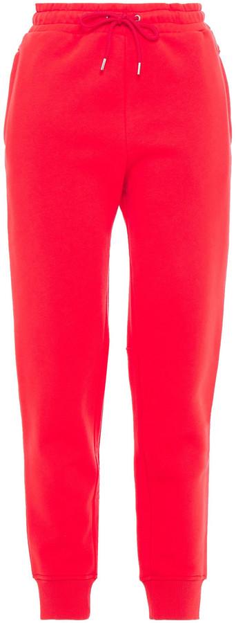 Paco Rabanne Cotton-fleece Track Pants
