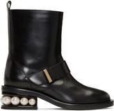Nicholas Kirkwood Black Casati Pearl Boots