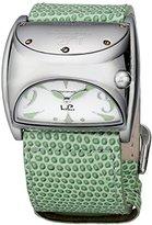 Lucien Piccard Women's LPITALY-4311.20.275 Stratosphere Analog Display Swiss Quartz Green Watch