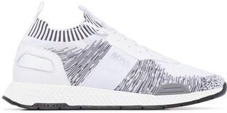 BOSS Titanium sock sneakers