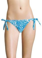 Milly Long Beach Lotus Printed Bikini Bottom