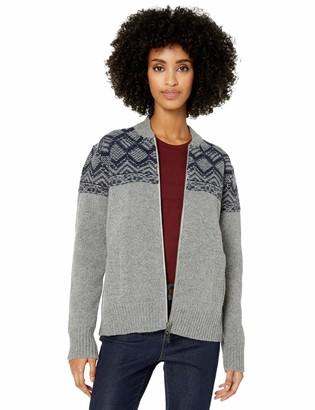 Pendleton Women's Mosaic Yoke Zip Front Sweater