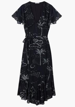 Lily & Lionel Mystic Palm Drew Dress - Size S