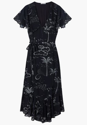 Lily & Lionel Mystic Palm Drew Dress - XS