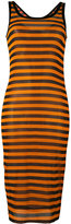 Givenchy semi-sheer striped dress - women - Silk/Spandex/Elastane - 36