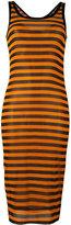Givenchy striped dress - women - Silk/Spandex/Elastane - 36