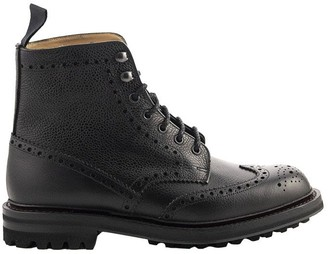 Church's Mac Farlane 2 Highland Grain Lace-Up Boot Brogue Black