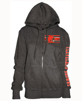 5th & Ocean Women's Cleveland Browns Backfield LE Hoodie
