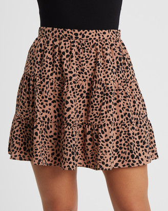 Tussah - Women's Neutrals Mini skirts - Orian Mini Skirt - Size One Size, 6 at The Iconic