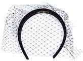Piers Atkinson - veil hairband - women - Acrylic - One Size